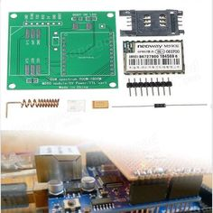 DIY M590E GSM GPRS Communication Module Kit Dual Band 900/1800MHZ 85.6 Kbit/s 900m-1800m For Arduino