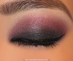 "this makes me wanna buy ""Pomegranate Punk"" 24 Cream Shadow by Maybelline #MakeupNerd"