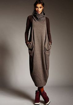 Chic! Can be worn belted as well... Alembika, Israel - Roni Rabl