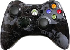 Black Nightmare Custom Xbox 360 Controller - Brand New Xbox 360 Controller