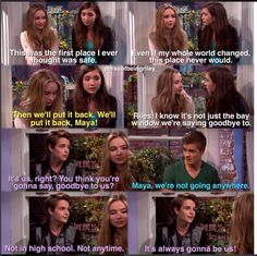 #GirlMeetsWorld Girl Meets Bay Window ( this episode made me tear up, Maya's afraid of losing her friends)