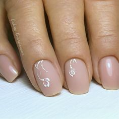 Semi-permanent varnish, false nails, patches: which manicure to choose? - My Nails Frensh Nails, Cute Nails, Pretty Nails, Hair And Nails, Bride Nails, Wedding Nails, Nail Deco, Minimalist Nails, Stylish Nails