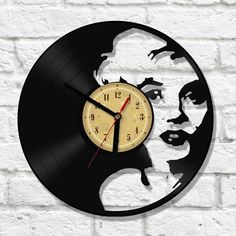 We made our clocks from old , used vinyl records.Thanks to our passion to music we give a new life for used and forgotten vinyl records, we make them functional, beautiful and great looking part of your interior.Also for all eco-friendly people - the use of vinyl as a useful material reduces the consumption of new raw materials.Still, music fans should not be afraid - we create our clocks from records that are no longer playable- that's why albums may have some scratches.- Clock made from...