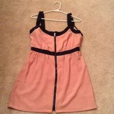 I just discovered this while shopping on Poshmark: BNWOT!! Forever 21 dress size med. Check it out!  Size: M