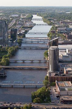 The Grand River - Grand Rapids, MI    www.facebook.com/loveswish