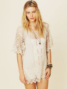 Free People Coachella Valley Tunic at Free People Clothing Boutique - StyleSays