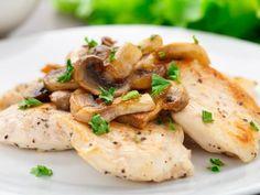 Poulet au champignons : Recette de Poulet au champignons - Marmiton