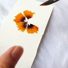 video how to paint this flower
