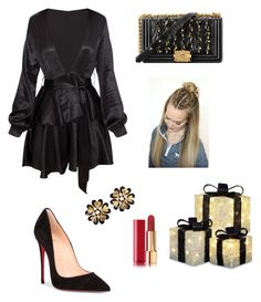 """Formal"" by mariardz ❤ liked on Polyvore featuring Christian Louboutin and Chanel"