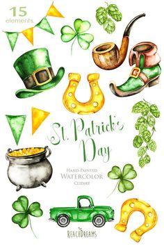 Patricks Day, day - Usa Home Decor Trend St Patricks Day Clipart, St Patricks Day Quotes, St. Patricks Day, Patrick Drawing, Shamrock Clipart, Sant Patrick, St Patricks Day Wallpaper, Desserts Valentinstag, St Patrick's Day Decorations