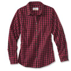 Just found this Womens Check Flannel Performance Shirt - Womens Tech Check Flannel -- Orvis on Orvis.com!
