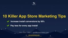 Mastering app store install conversions can significantly reduce the cost of user acquisition and drive higher quality installs to your app. After a year of te…