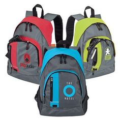 NEW Promotional Sovrano KB2203 Backpack #school #advertising #promoproducts #bags | Customized Backpacks | Promotional Sovrano Backpacks