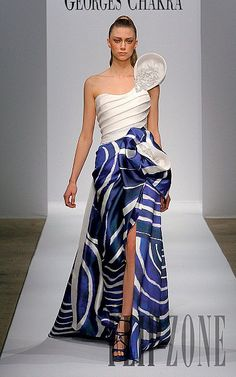Photos of the runway show or presentation for Georges Chakra Spring 2011 Couture Shows in Paris. Georges Chakra, Runway Fashion, High Fashion, Fashion Show, Beautiful Gowns, Beautiful Outfits, Fabulous Dresses, Evening Dresses, Prom Dresses