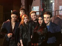 The cast for the Shadowhunters TV show