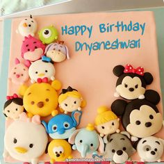 I Have Written Dnyaneshwari Name On Cakes And Wishes This Birthday Wish It Is