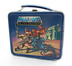 Masters of the Universe Lunch box Retro Lunch Boxes, Lunch Box Thermos, Cool Lunch Boxes, Metal Lunch Box, Whats For Lunch, Out To Lunch, Nostalgia, School Lunch Box, Star Wars