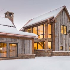 Delightfully warm home on the banks of the Roaring Fork River, just outside of Aspen. Recipient of the 2014 Source Award for excellence in residential lighting, and the only residential project to