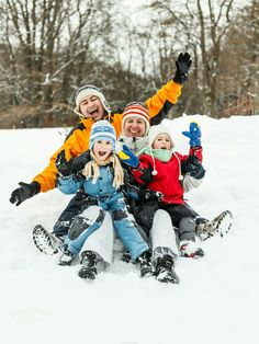 Attractive family having fun in a winter park Winter Park, Winter Fun, For Your Health, Health And Wellness, Health Tips, Emotional Child, Local Events, Regular Exercise, How To Stay Healthy