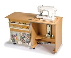 Super compact The CUB PLUS - this revamped entry level sewing cabinet with just what you need for Horn Cub pawprintsewing and storage. This super compact cabinet includes loads of storage on the door (now includes removable acce Sewing Machine Tables, Sewing Table, Sewing Box, Sewing Machine Cabinets, Sewing Machines, Free Sewing, Sewing Cabinet, Tudor Rose, Quality Cabinets
