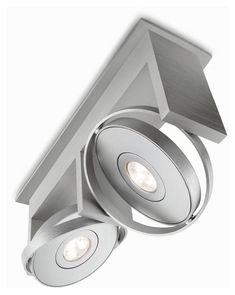 philips ledino 531524848 orbit 2 lamp contemporary led ceiling spot light fixture phi 531524848 ceiling spot lighting