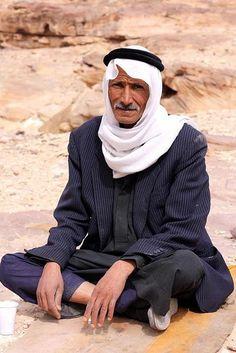 Abu Khalid, from the Ammarin tribe of Bediah, Jordan