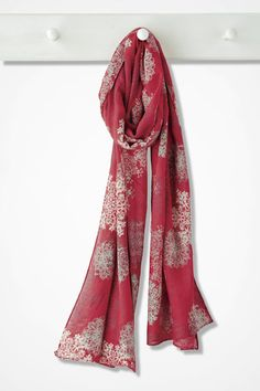 Shower of Snowflakes Scarf - Coldwater Creek