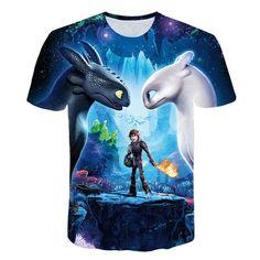 bdf0309f5d 2018 Pocket Toothless T-shirt Men Cute Tops How To Train Your Dragon  Cartoon Tees