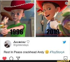 Rest In Peace crackhead Andy -: - iFunny :) Funny Disney Memes, Stupid Funny Memes, Funny Relatable Memes, The Funny, Hilarious, Funny Stuff, Disney Facts, Funny Things, Random Stuff