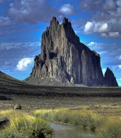 Shiprock, New Mexico. Lived for a year, not to far away in Farmington, NM