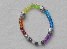 Buddha Bracelet - Chakra Bracelet - Meditation Bracelet - Yoga  Bracelet - Chakra Stones - Yoga jewelry - Energy Bracelet - Gym Jewelry by KayBejeweled on Etsy