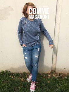 Aime comme macaroni - Cousu Dodu