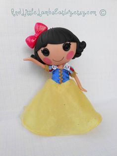 Lalaloopsy Clothes Snow White Princess by AndLittleLambsEatIvy, $25.00