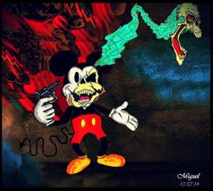 """""""Suicide Mouse"""" (Mickey mouse)  by MigUel Eins®"""