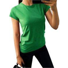 Summer Plus Size Cotton T Shirt For Women Slim Top Tee Casual Solid Female T-shirts Basic Short Sleeve O-Neck Tops Tshirt Women