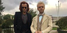 First look at David Tennant and Michael Sheen in Good Omens adaptation