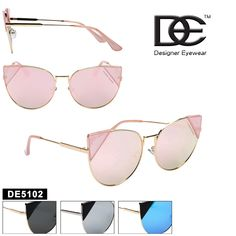 Buy Cat Eye Women's DE™ Designer Eyewear - Style Hot new fashion style for women, direct form the importer! Wholesale Sunglasses, Buy A Cat, Reading Glasses, Cat Eye, New Fashion, Eyewear, Mirrored Sunglasses, Stuff To Buy, Colors
