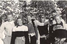 Bishop Ski Team, Dave McCoy, Audra Jo and Jill
