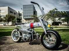 "Honda Dax ""De Lujo"" by Lucky Custom Cordoba - mini4temps.fr"