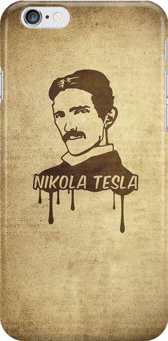 « Nikola Tesla  » par badbugs