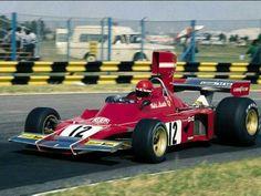 Lauda 312B3evo @ Buenos Aires 1974 . Ist GP @ Ferrari !