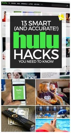 Think you know everything there is to know about Hulu? Check our 13 insider-hack. Tv Hacks, Movie Hacks, Netflix Hacks, Technology Hacks, Computer Technology, Tv Without Cable, Secret Apps, Cable Tv Alternatives, Free Tv And Movies