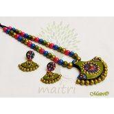 terracotta-jewelry-tsh519  Maitri Crafts www.maitricrafts.com https://www.facebook.com/maitricrafts.maitri