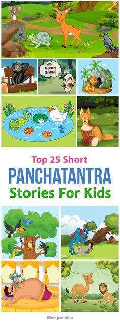 Kids Discover 25 Best Tales Of Panchatantra For Kids Top 25 Short Panchatantra Stories For Kids Stories With Moral Lessons, English Moral Stories, Short Moral Stories, English Stories For Kids, Moral Stories For Kids, Short Stories For Kids, English Story, Happy Stories, Kids English