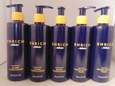 5 Enrich by Gillette Nourishing Beard Conditioner 216 mL FL OZ) Lot Men Beard Conditioner, Face Wash, Bath And Body, Good Things, Things To Sell, Personal Care, Men, Ebay, Self Care