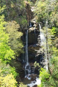 Big Bradley Falls is undeniably beautiful, although it has a rather tragic history.