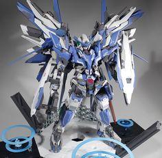 GUNDAM GUY: MG 1/100 Amazing Exia Complete [GBWC 2016 Japan] - Customized Build