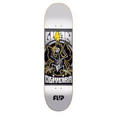 Flip Oliveira Mercenaries Series Skateboard Deck, color: Assorted, category/department: skate-decks