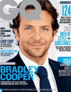 GQ Australia MAY 2013 Bradley Cooper Douglas Booth James Magnussen Idris Elba Gq Magazine Covers, Gq Australia, Cover Style, Gq Men, Beauty Magazine, Bradley Cooper, Modern Man, Girl Photos, Style Guides