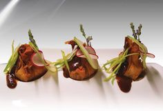 Food Trends 2018, cooking with flowers, Fusion Boutique Hotel's Venison Parcels with Lavender Garnish